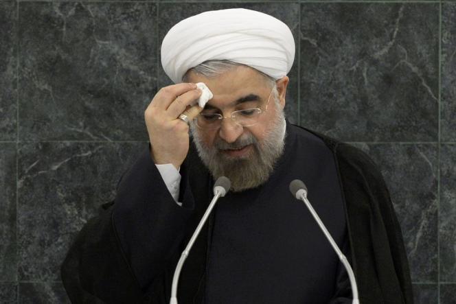 Hassan Rohani, lors de la 68e Assemblée générale des Nations unies, mardi 24 septembre, à New York.