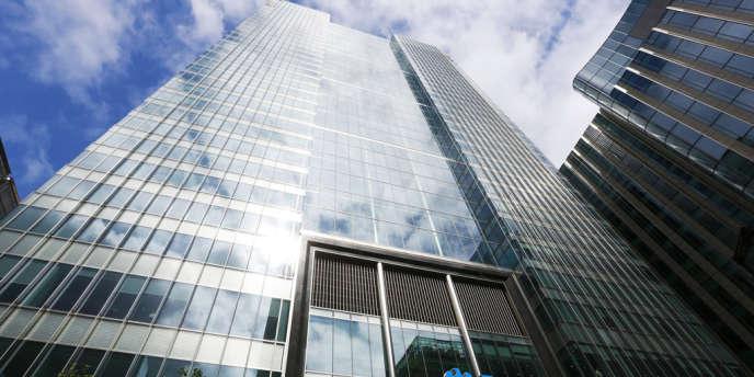 Siège de la banque Barclays, à Londres, en août 2012.
