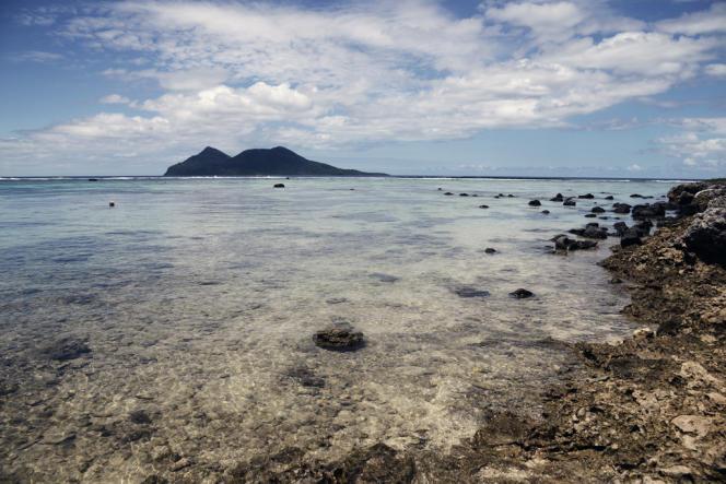 Sur l'île de Pele, au nord de l'île d'Efate, à Vanuatu.