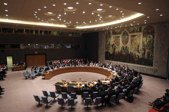 Réunion du Conseil de sécurité de l'ONU, le 26 septembre.