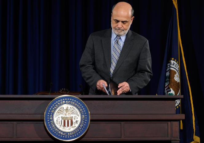 Ben Bernanke, le patron de la Fed, a envoyé un signal fort aux marchés : l'ère de l'argent facile va bientôt toucher à sa fin.