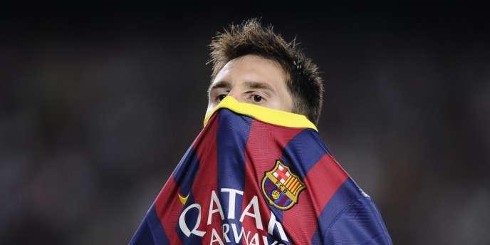 Lionel Messi à Barcelone, le 24 septembre.