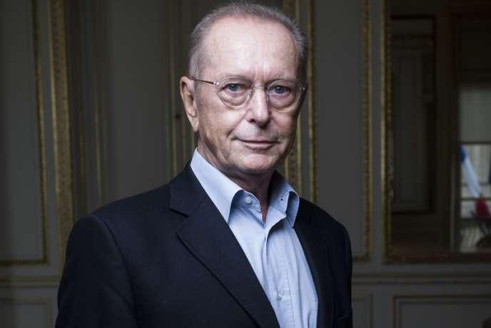 Dominique Baudis, le 17 septembre 2013, à Paris.