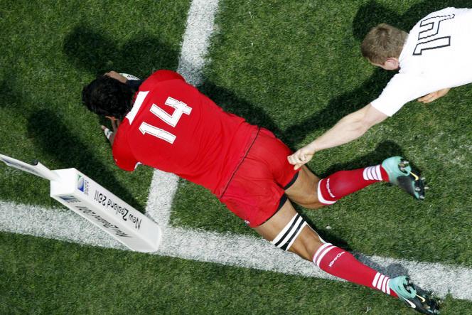 Match de rugby lors de la Coupe du monde en 2011.