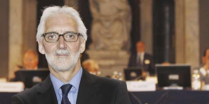 L'Anglais Brian Cookson, le 27 septembre à Florence.