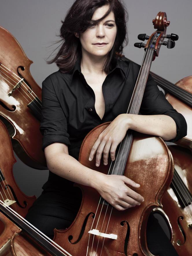 La violoncelliste Sonia Wieder-Atherton.