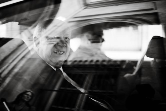 Jean-Claude Gaudin,  à Marseille, le 19 septembre. Ses rivaux le trouvent vieilli, fatigué. Lui reconnaît :