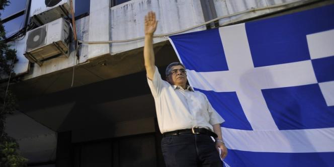 Nikolaos Michaloliakos, en juin 2012.