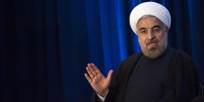 Le président iranien, Hassan Rohani, le 26septembre 2013 à New York.