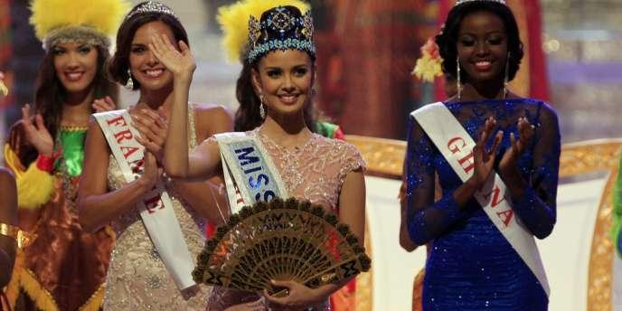 Megan Young, élue Miss Monde samedi 28 septembre à Bali, en Indonésie, se définit comme