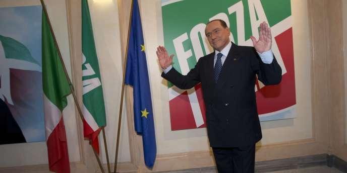 Silvio Berlusconi à Rome, le 19 septembre.