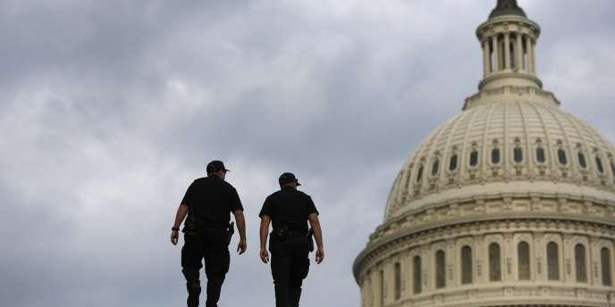 Le Capitole, où siège les parlementaires américains, a été temporairement fermé, jeudi.