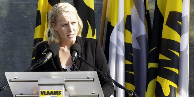 Marion Maréchal-Le Pen le 29 septembre à Boom.