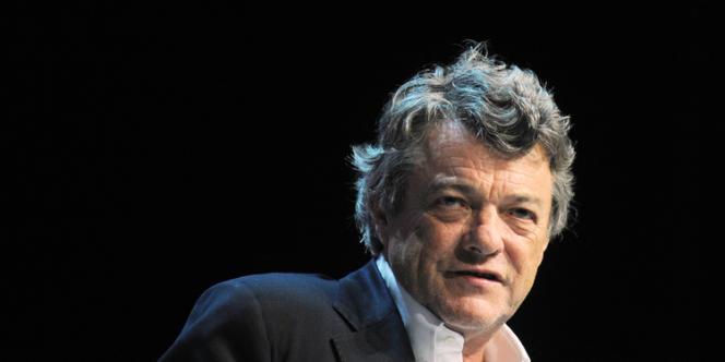Jean-Louis Borloo, au congrès de l'UDI, le 15 septembre 2013 à Chasseneuil-du-Poitou (Vienne).