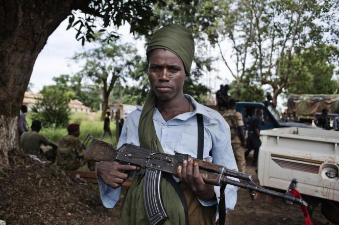 Combattant de l'ex-Séléka intégré aujourd'hui aux Forces armées centrafricaines.