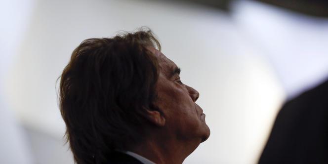Bernard Tapie, le 10 juillet 2013.