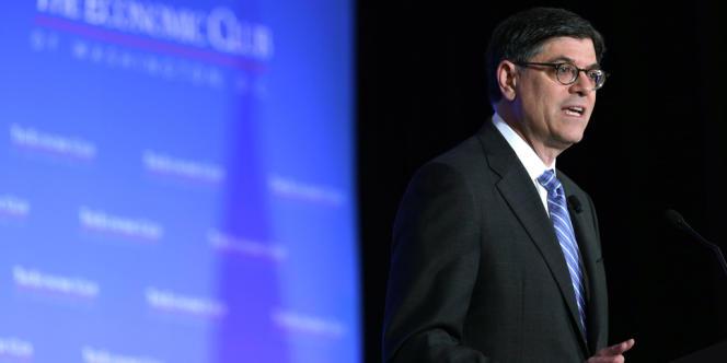 Le secrétaire du Trésor américain Jacob Lew, le 17 septembre à Washington.