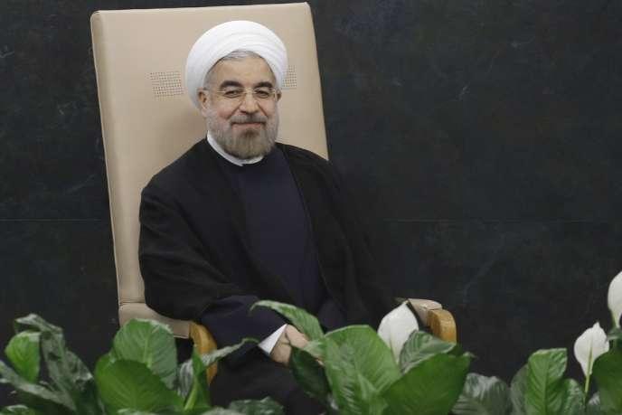 Le président iranien Hassan Rohani, en septembre.