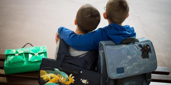 Dans une école primaire à Paris, le 3 septembre.