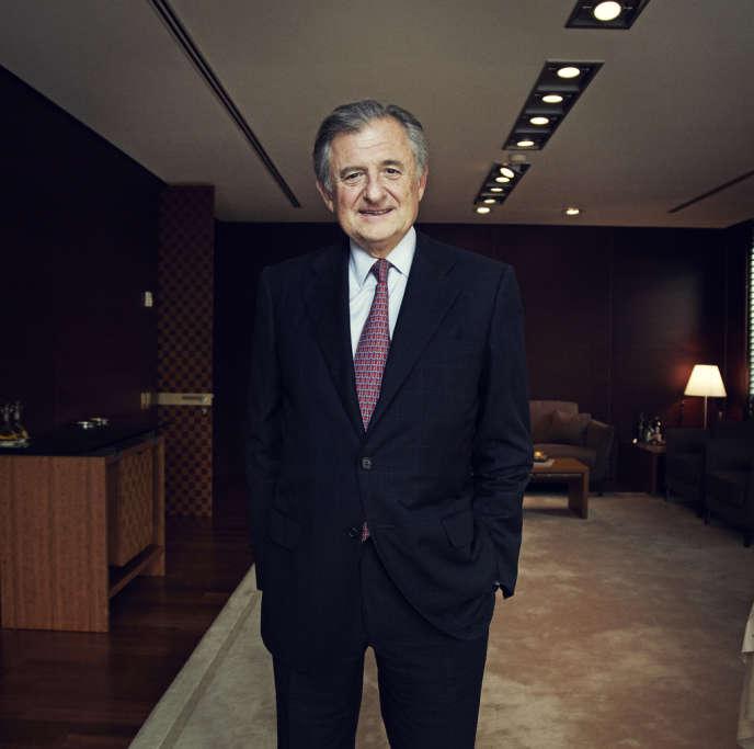 Jean-René Fourtou, à Paris, le 2 octobre.