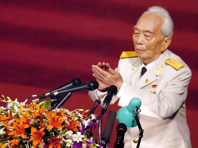 Le général Giap est mort vendredi 4 octobre.
