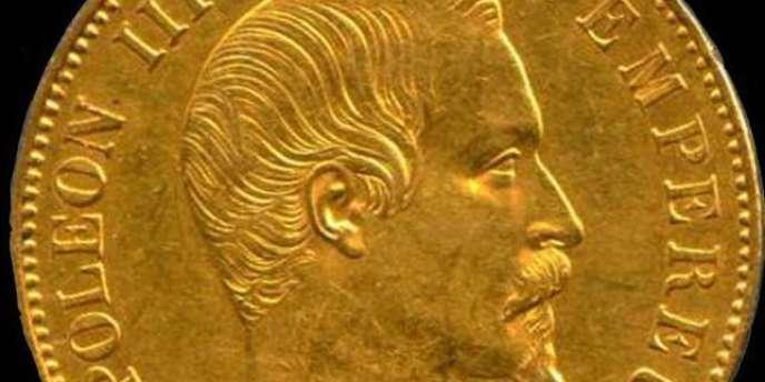 Le napoléon est une valeur d'investissement pendant la guerre et voit son cours multiplié par 19.