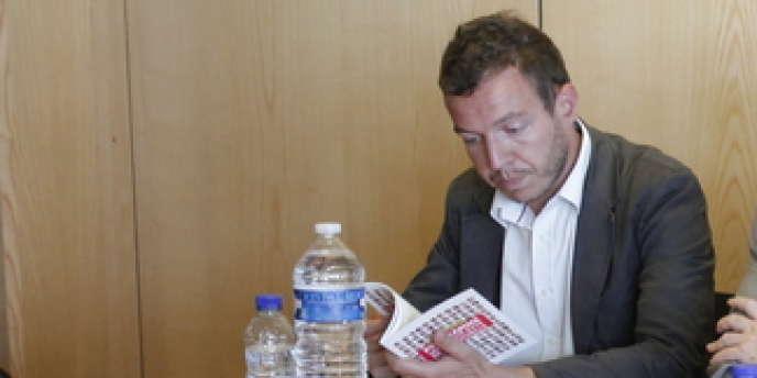 Gaël Brustier en août 2011, lors d'un atelier organisé par le PS.