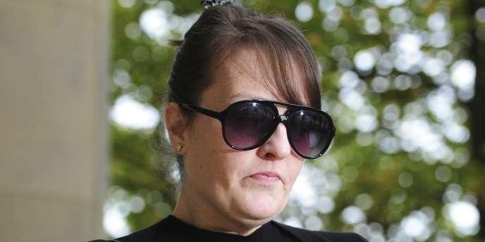 Amanda Hutton, le 3 septembre, à Londres.