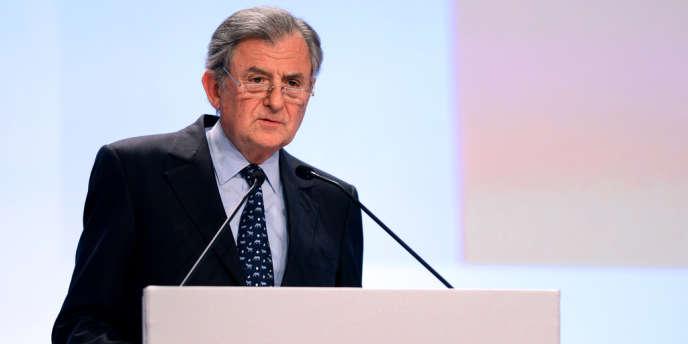Jean-René Fourtou lors de l'assemblée générale de Vivendi, le30avril2013, à Paris.