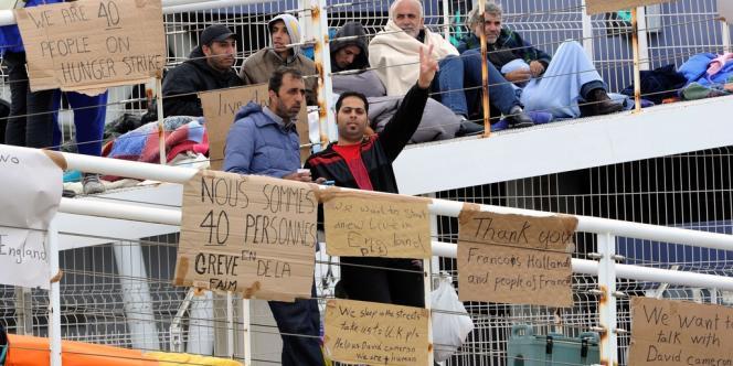 Une soixantaine de migrants syriens souhaitent rejoindre l'Angleterre.