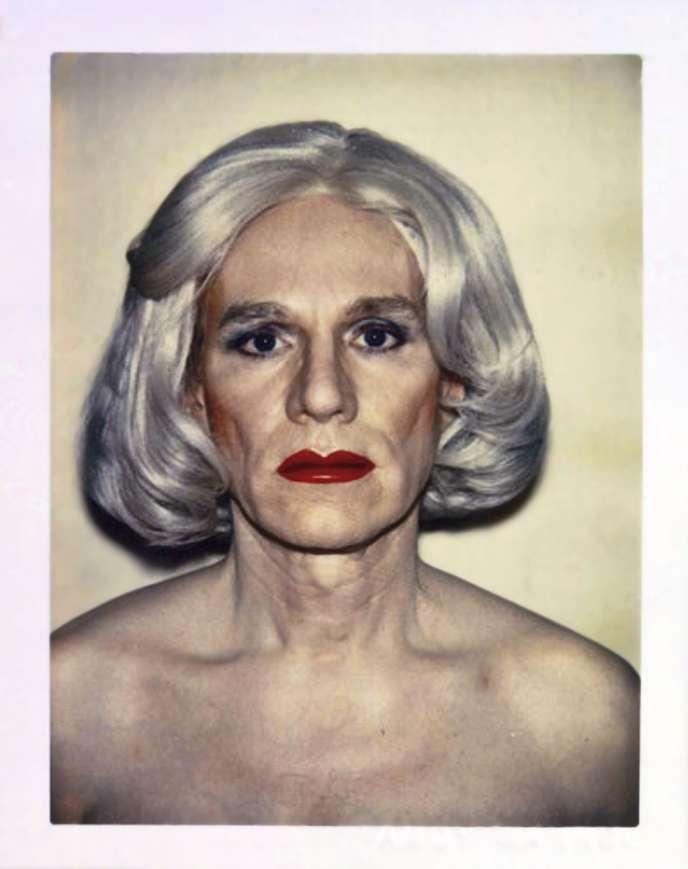 Autoportrait en drag-queen, 1981.