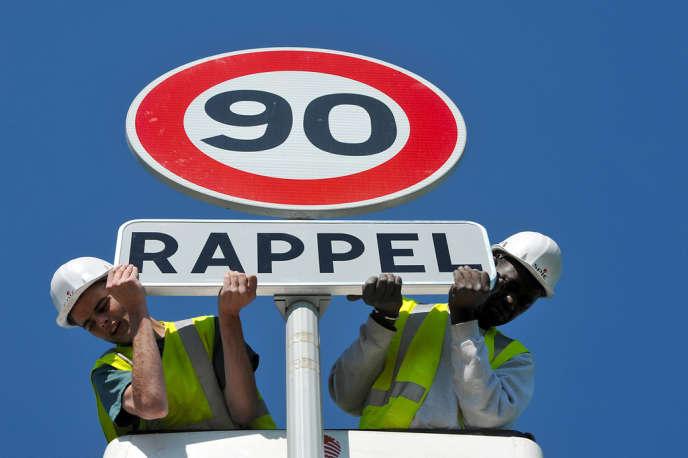 La limitation de vitesse à 80km/h au lieu de 90km/h pourrait épargner jusqu'à 400vies chaque année.