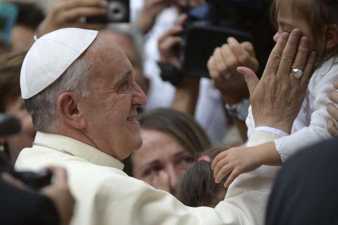 Le pape François à Assise (Ombrie), vendredi 4 octobre 2013.