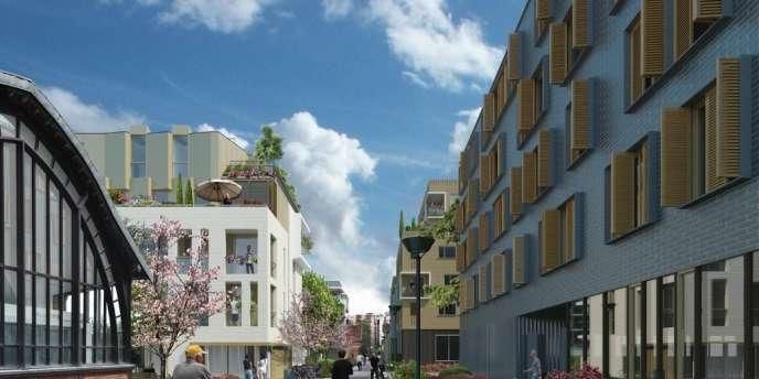 La zone d'aménagement concerté (ZAC) de Boucicaut, à Paris.