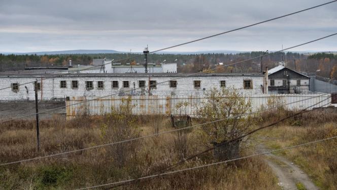 Le centre de détention d'Apatity, à 2 000 kilomètres au nord de Moscou, où certains militants de Greenpeace sont détenus.