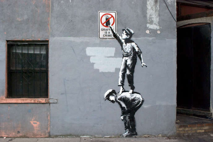Banksy fait des rues de New York son nouveau terrain de jeu