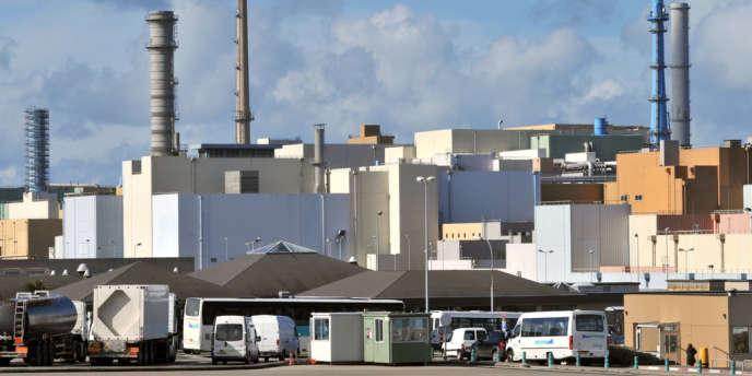 Le site de Beaumont-Hague, dans le Cotentin, où sont retraités les déchets radioactifs.