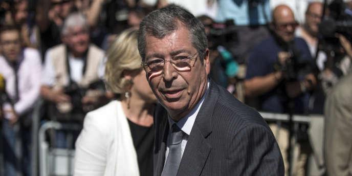 Le maire de Levallois-Perret, Patrick Balkany, au siège de l'UMP à Paris, en juillet 2013.