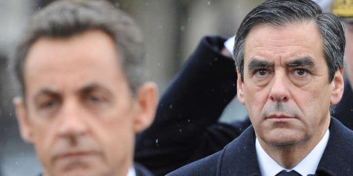 Nicolas Sarkozy et François Fillon en 2010.