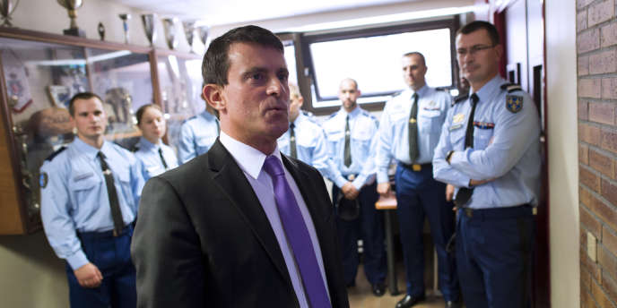 Manuel Valls, à Cergy, le 5 septembre 2013.