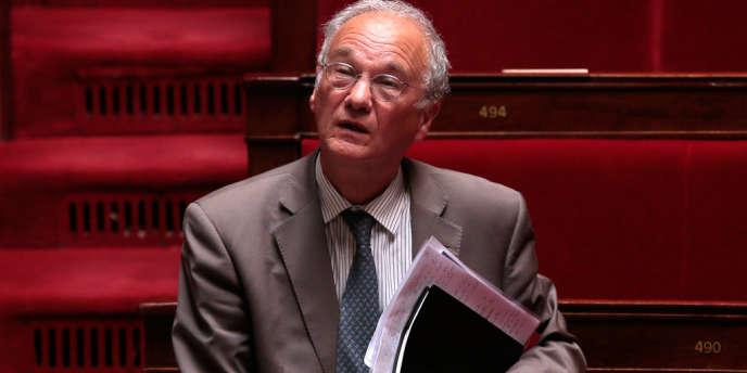 Gilles Carrez, président de la commission des finances de l'Assemblée nationale, le 2 juillet2013.