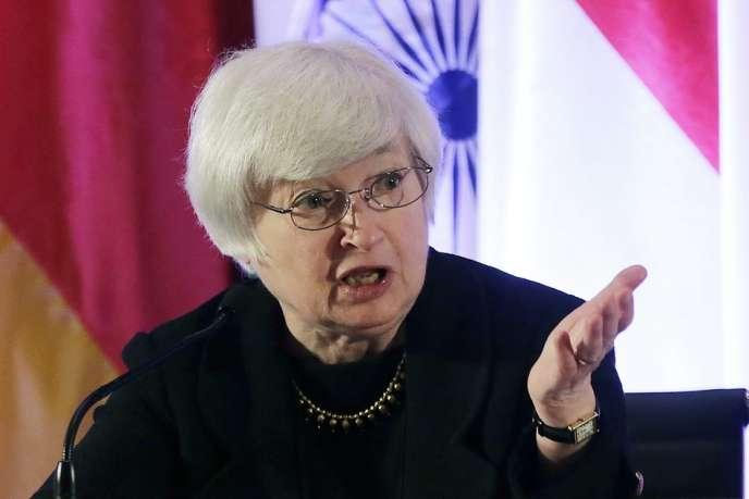 Janet Yellen, première femme nommée présidente du conseil de la Réserve fédérale américaine, a succédé à Ben Bernanke le 31 janvier.