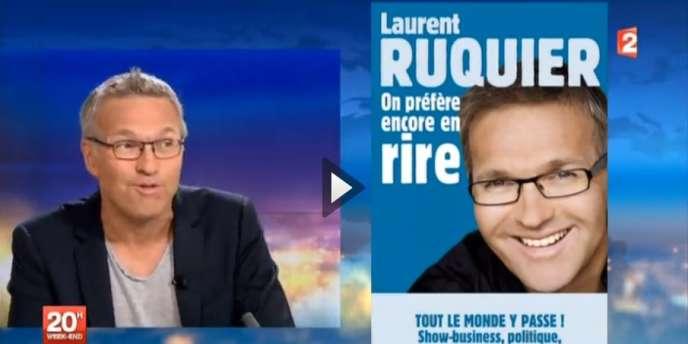 L'animateur Laurent Ruquier venu présenter