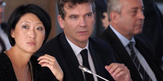 Arnaud Montebourg et Fleur Pellerin, le 7 octobre 2013.