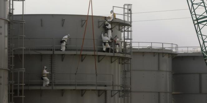 La centrale de Fukushima.