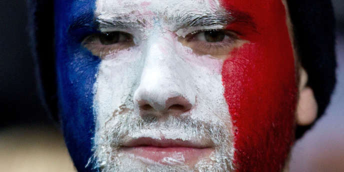 Un supporter de l'équipe de France de rugby en Nouvelle-Zélande, le 22 juin 2013.