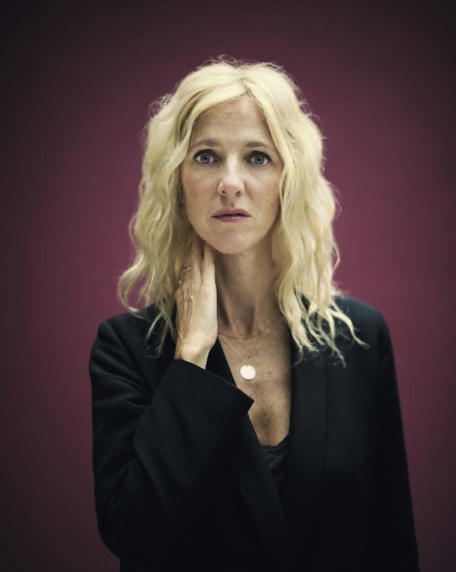 Sandrine Kiberlain, à l'affiche de trois films très différents.