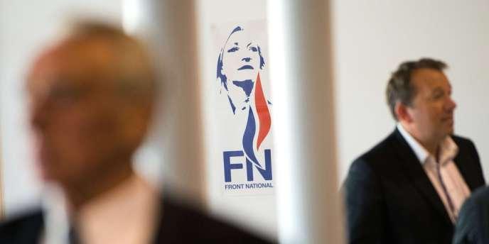A l'université d'été du FN, le 14 septembre à Marseille.