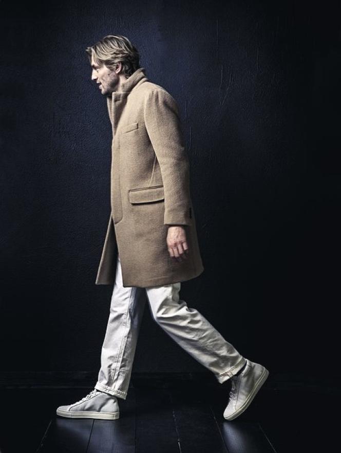 Pierre Mahéo crée manteaux confortables et vestes