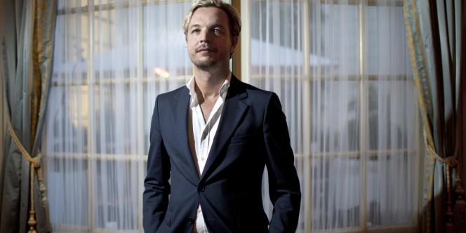 Markus Langes Swarovski, membre du conseil d'administration du groupe familial autrichien, le 3 octobre.